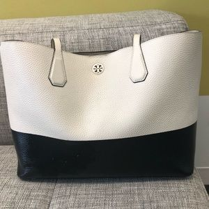 Tory Burch Large Perry Pebble Tote